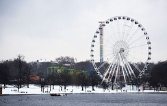 The Winter Wonderland festival has been a popular Christmas event in Hyde Park since 2007.