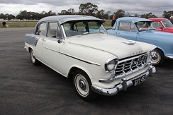 Holden's FC series was the first to be tested at the Lang Lang proving ground.