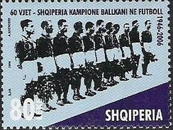 Stamps of Albania, 2007. 60th Anniversary of Victory at the Balkan Cup