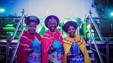 Mahotella Queens in 2017 in Madrid (Spain).