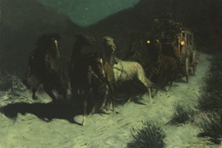 A Taint on the Wind, 1906, Oil on canvas, Sid Richardson Museum, Fort Worth, Texas