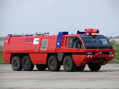 """FLF Panther"" airport crash tender in Germany"