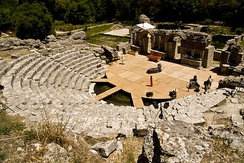 Butrint has been included in the UNESCO list of World Heritage Sites since 1992.