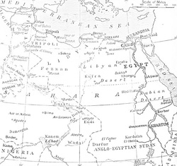 Area of operations, Senussi Campaign, World War 1.jpg