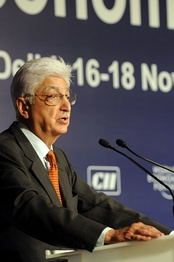 Azim Premji, CEO of India's 3rd largest IT company Wipro Technologies and the 5th richest man in India with an estimated fortune of US$17.1 billion[179]