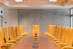 Typical board room setting