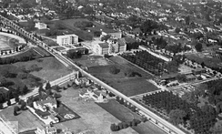 Aerial view of Caltech in 1922