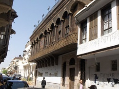 Typical historic Damascene street