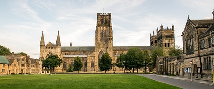 Durham Cathedral viewed from Palace Green