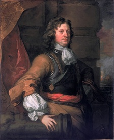 Portrait of Sandwich by Sir Peter Lely, painted 1666, part of the Flagmen of Lowestoft series.