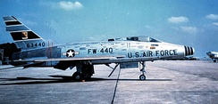 North American F-100D-85-NH Super Sabre, AF Ser. No. 56-3440 of the 308th Tactical Fighter Squadron.