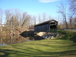 The Fallasburg Bridge in Vergennes Township, Kent County