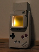 The original Game Boy lacked a backlight, so many third-party accessories were created to improve play in low-light conditions.