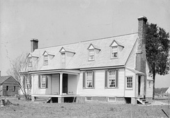 Tyler's birthplace, Greenway Plantation in Charles City County, Virginia