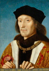 King Henry VII, the founder of the royal house of Tudor