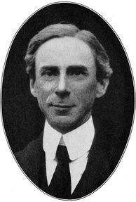 The British philosopher Bertrand Russell