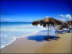 Пляж в Гоа на побережье Аравийского моря