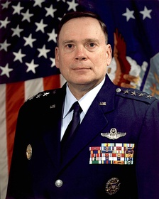 General John P. Jumper in the modern Air Force service dress