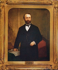 Governor Downey by William F. Cogswell