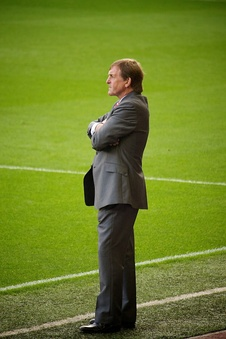 Kenny Dalglish temporarily served as the caretaker manager of  Liverpool in 2011, following the sacking of Roy Hodgson. He was eventually promoted to permanent manager.