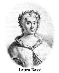 Laura Bassi, the first chairwoman of a university in a scientific field of studies.