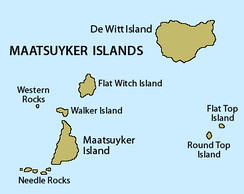 Map of the Maatsuyker Islands