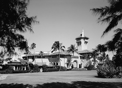 Mar-a-Lago, Marjorie Merriweather Post's estate on Palm Beach Island