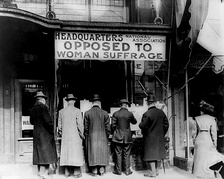 Headquarters of the National Association Opposed to  Woman Suffrage.