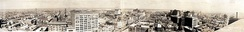 New Orleans panorama from 1919