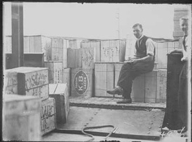 The first consignment of liquor Canberra, Australian Capital Territory, following the repeal of prohibition laws in 1928.