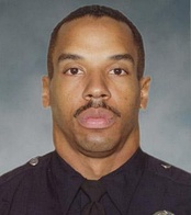 Randal Simmons, the first LAPD SWAT officer to be killed in the line of duty, on February 7, 2008