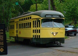 Twin City Lines PCC car No. 322