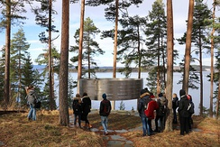 "At Utøya, the place of memorial is called [""the clearing""] Lysninga; a part of it is [""the ring""] Ringen"