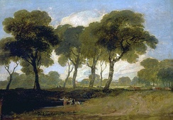 View on Clapham Common by J. M. W. Turner (1800-1805)