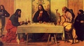 The Supper at Emmaus, Vincenzo Catena, 16th century