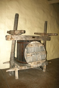 16th-century wine press