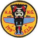 199th Fighter-Interceptor Squadron – F-47 Thunderbolt Patch, 1952