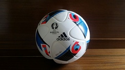 Adidas Beau Jeu, which translates to Beautiful Game in English, was an official match ball of UEFA Euro 2016