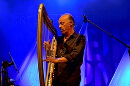 Alan Stivell in concert at Brest (Brittany), 2013