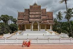 Buddhist Temple at Haw Kham (Royal Palace) complex