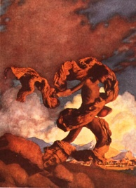Cadmus Sowing the Dragon's Teeth (1908), created for Collier's