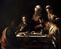 Supper at Emmaus, Caravaggio, 1606, Milan