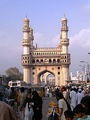 Charminar, the most famous of the monuments of Hyderabad