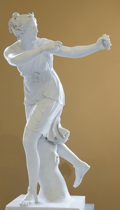Diana by Joseph Nollekens in the Victoria and Albert Museum