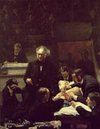 Thomas Eakins, The Gross Clinic, 1875, Philadelphia Museum of Art and the Pennsylvania Academy of Fine Arts