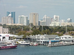Ft. Lauderdale, part of largest metropolitan area