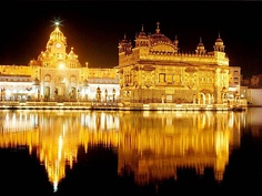 Harmandir Sahib (The Golden Temple) is culturally the most significant place of worship for the Sikhs. Maharaja Ranjit Singh rebuilt Harmandir Sahib in marble and copper in 1809, overlaid the sanctum with gold foil in 1830.[431]