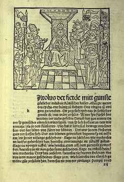 Incunable of the Golden Bull in Early New High German, late 15th century, University of Jena