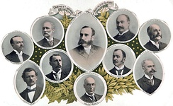 Members of the 1897 Marchand government.