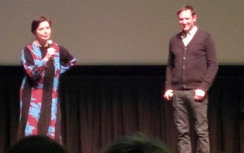 Rossellini (left) worked on Green Porno with Jody Shapiro (right).
